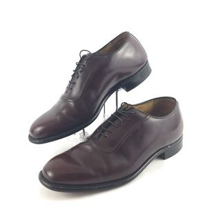 Johnston & Murphy Leather Lace Up Oxford